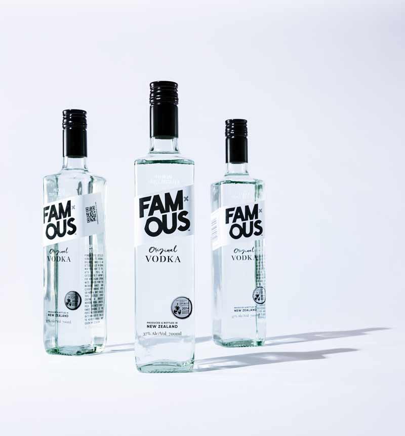 Famous Original Vodka - 37%