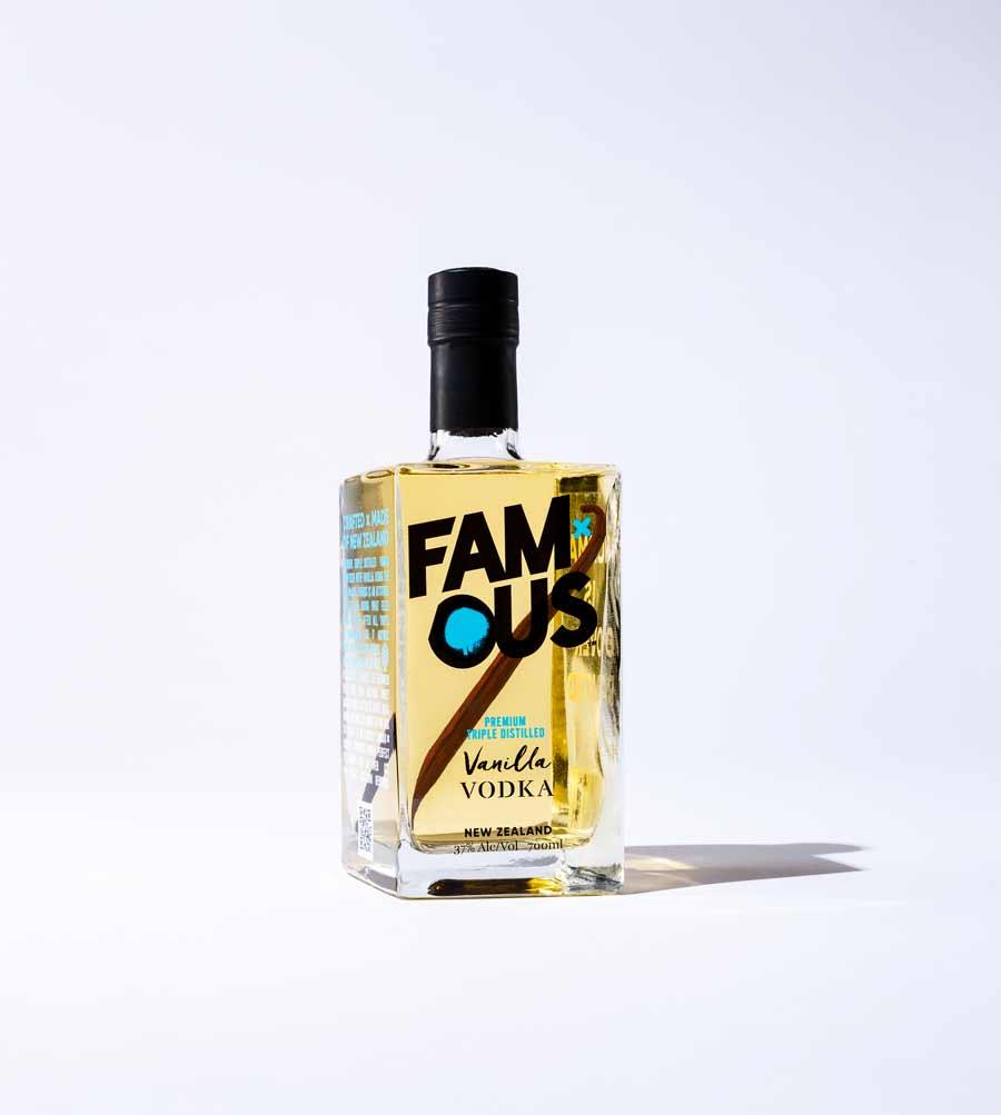 Famous Vanilla Vodka